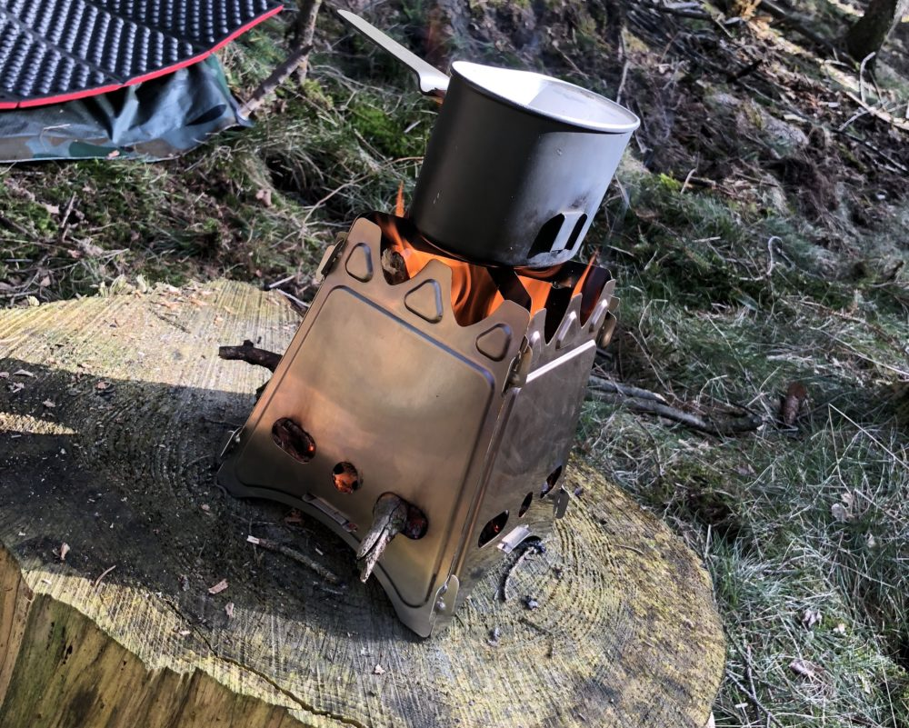 Bushcraftartikel De Bushcraft Holzofen Hobo Online Kaufen